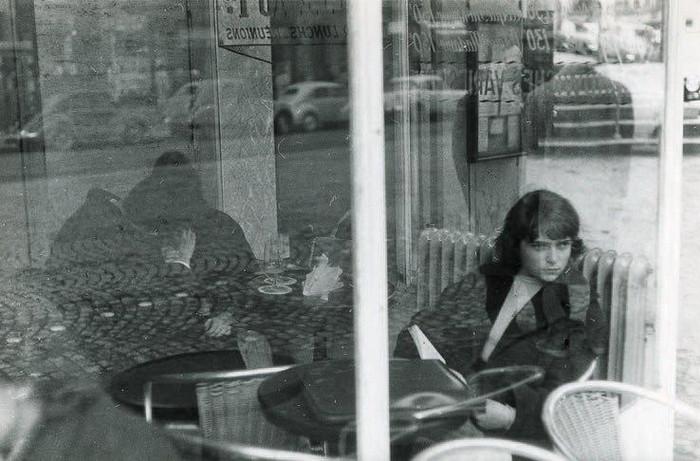 Кафе на бульваре Сен-Жермен, 1969 год.
