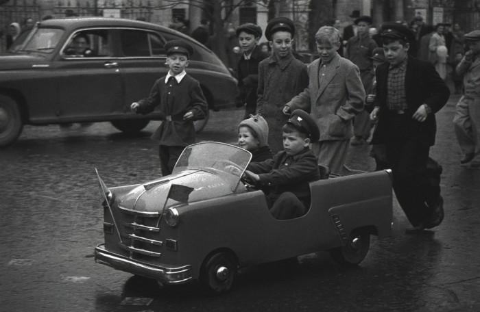 «День великого праздника рабочих всего мира». СССР, 1959 год.