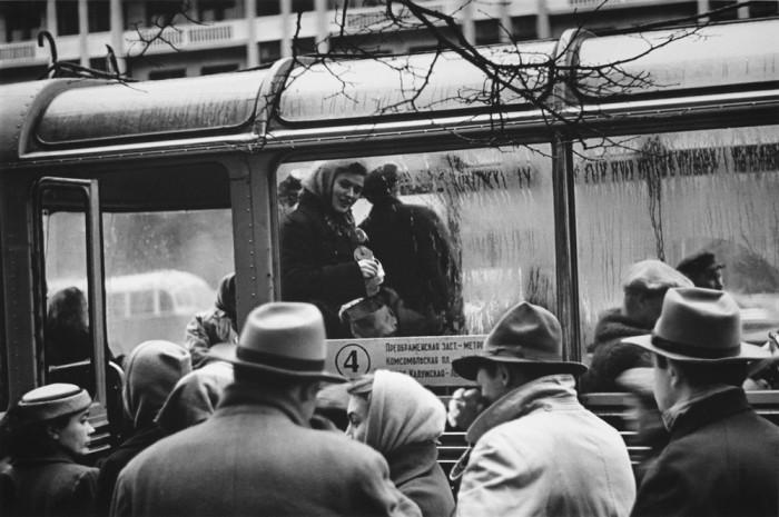 «Знакомый кондуктор». СССР, Москва, 1959 год.