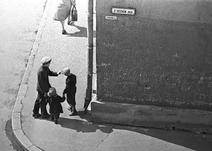 Второй Лесной переулок. СССР, Москва, 1962 год.