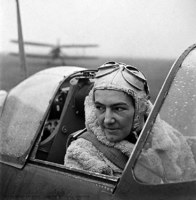 Польский пилот Второй мировой войны.