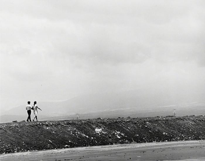 Прогулка на окраине города. Мексика, 1950 год.