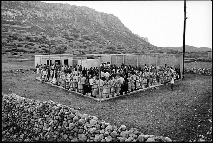 Религиозный праздник в греческой деревне, 28 августа 1989 года.