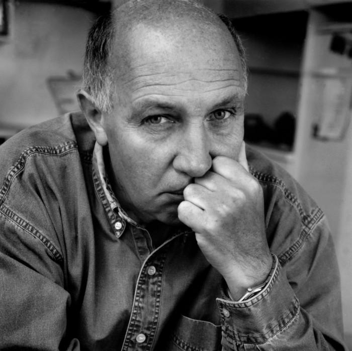 Раймон Депардон, автопортрет, 1992 год.
