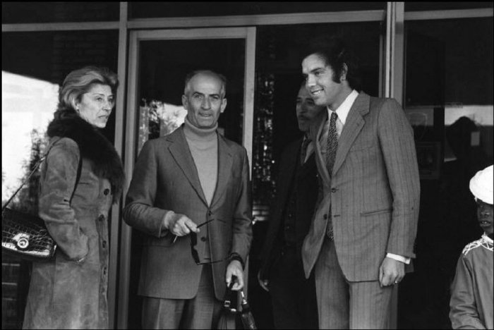 Луи де Фюнес в Тунисе, 1971 год.