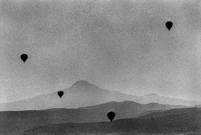 Панорама местности на востоке Малой Азии, которая расположена на территории современной Турции. Каппадокия, 2013 год.