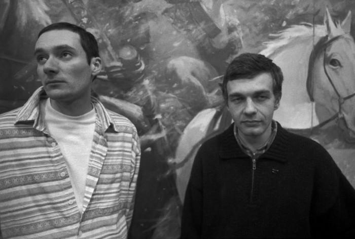Портретный снимок Дубосарского и Виноградова в 1996 году.