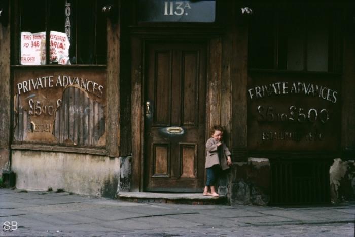 Беспризорник. Англия, Манчестер, 1966 год.