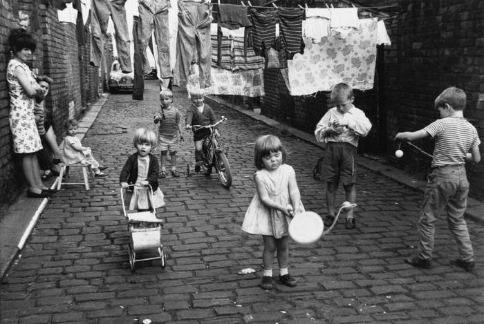 Англия, Манчестер, Чорлтон-он-Медлок, 1966 год.