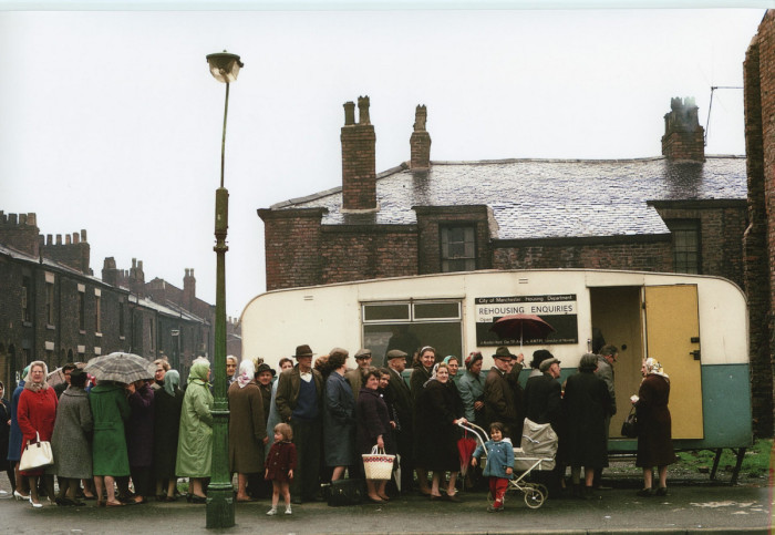 Офисом для рассмотрения претензий по выселению. Англия, Хьюм, 1965 год.