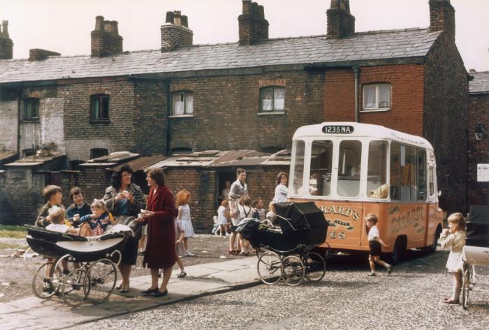 Фургон мороженщика. Англия, Хьюме, 1965 год.