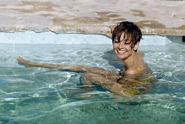 Британская актриса и фотомодель в 1967 году.
