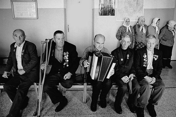 Встреча ветеранов.