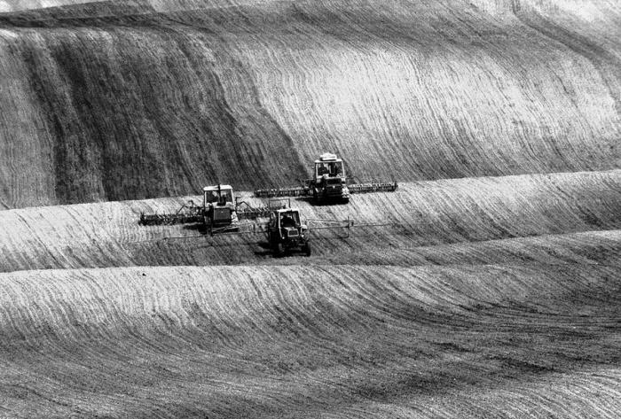 Зерноуборочные комбайны.