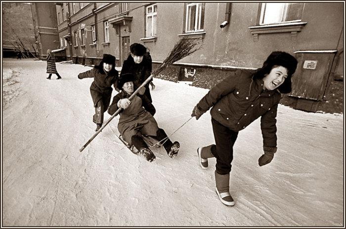 Фотографии, сделанные советским фотографом Владимиром Роловым.