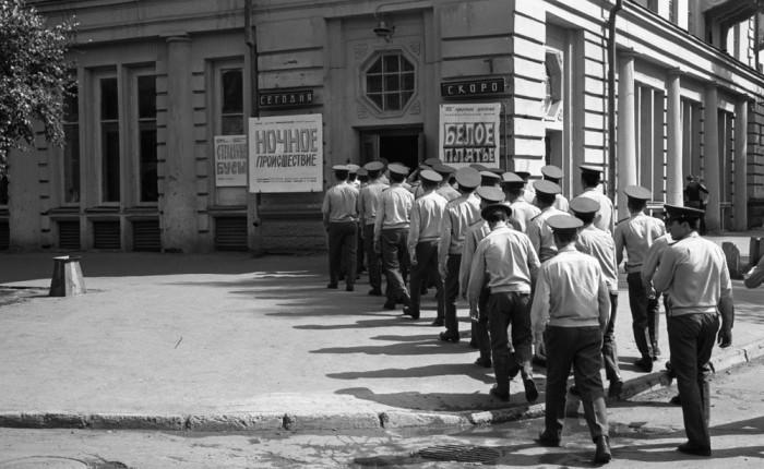 Дневной спецсеанс в кинотеатре «Пионер». Автор фотографии: Vladimir Vorobyov.