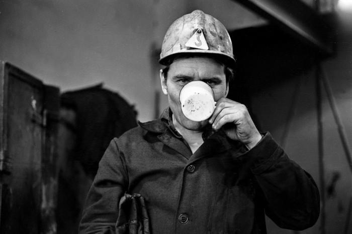 Мастер участка сортопрокатного цеха. Автор фотографии: Vladimir Vorobyov.