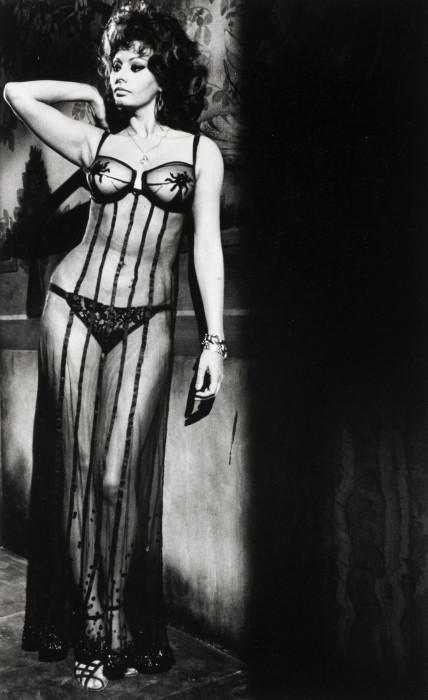Софи Лорен в фильме «Брак по-итальянски». Италия, Рим, 1964 год.