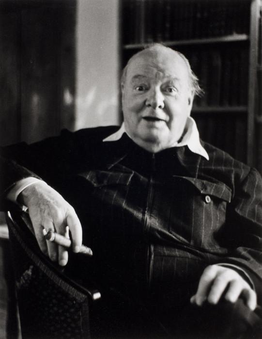 Уинстон Черчилль. Чартвелл, графство Кент, Англия, 1951 год.