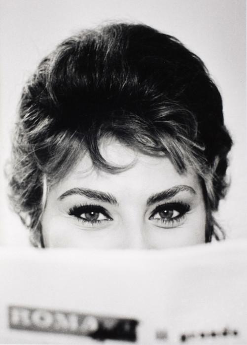 Глаза Софи Лорен. Рим, Италия, 1961 год.