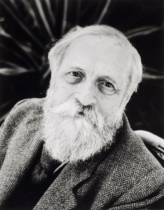 Еврейский экзистенциальный философ, теоретик сионизма. Иерусалим, Израиль, 1953 год.
