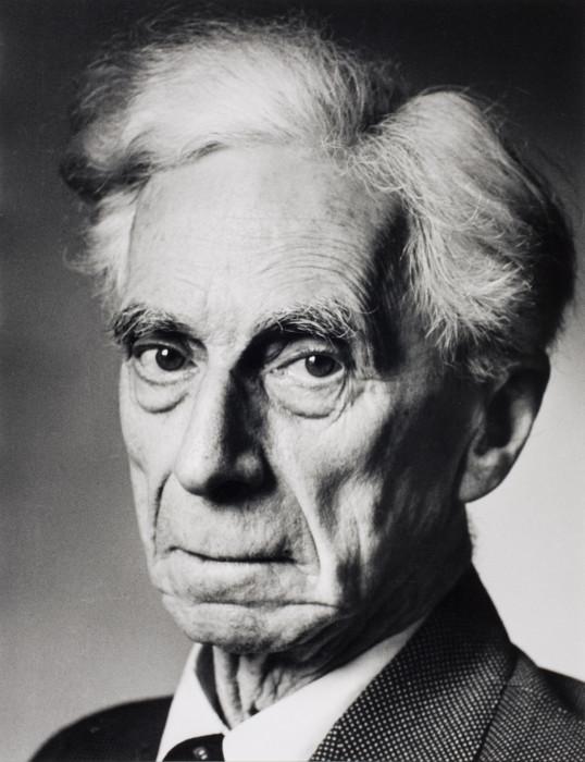 Известный британский философ, математик и общественный деятель. Англия, Лондон, 1951 год.