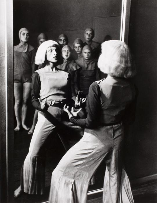 Известная школа танцев в Берлине, 1931 год.