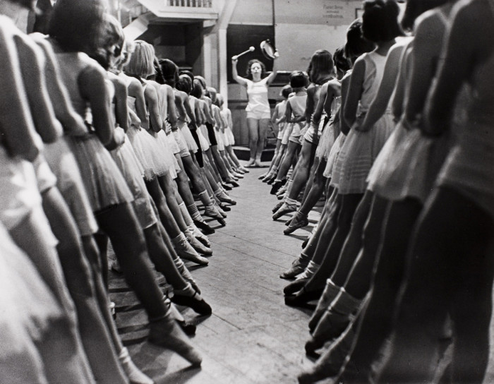 Известная балетная школа в Берлине, 1931 год.