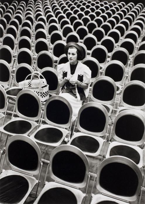 Певица Джейн Форман на студии NBC 4H в Нью-Йорке, 1937 год.