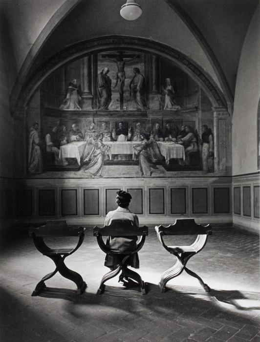 Фреска в доминиканском монастыре Сан-Марко под названием «Провидение». Италия, Флоренция, 1935 год.