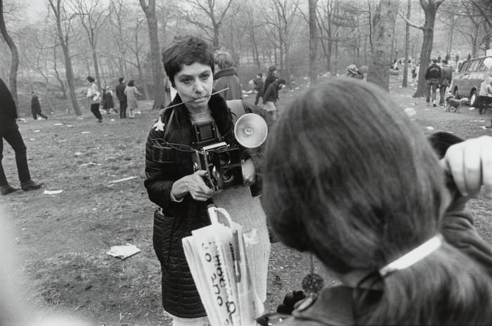 Одна из центральных фигур документальной фотографии. США, 1969 год.