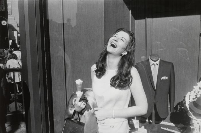 Снимок, сделанный звездой Нью-Йоркской фотографии. Нью-Йорк, 1968 год.
