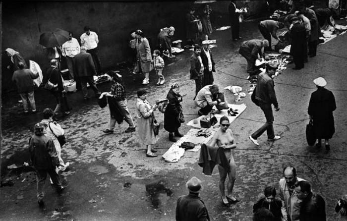 Тишинский рынок, который образовался ещё до революции.