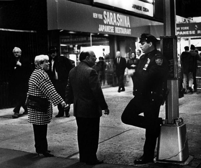 Из жизни нью-йоркской полиции.