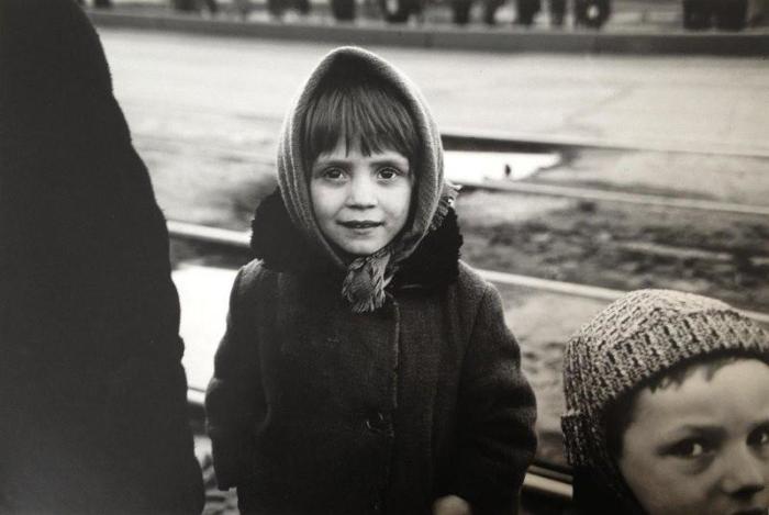 Портретная фотография. СССР, Ульяновск, 1970 год.