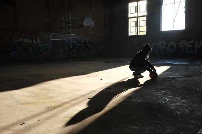 Любитель баскетбола. Автор фотографии: Марти Жерве.
