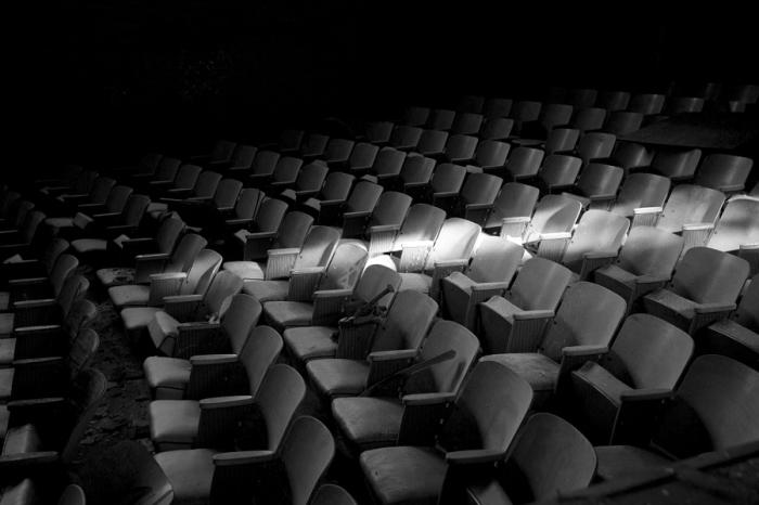 Старый кинотеатр. Автор фотографии: Ларри Льюис.