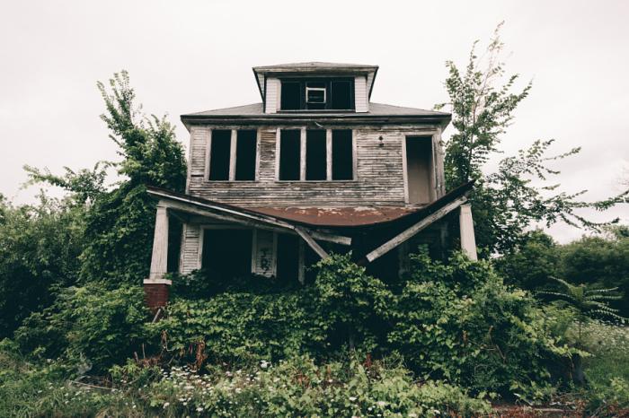 Дом, который постепенно поглотили джунгли. Автор фотографии: Сэм Скляр.
