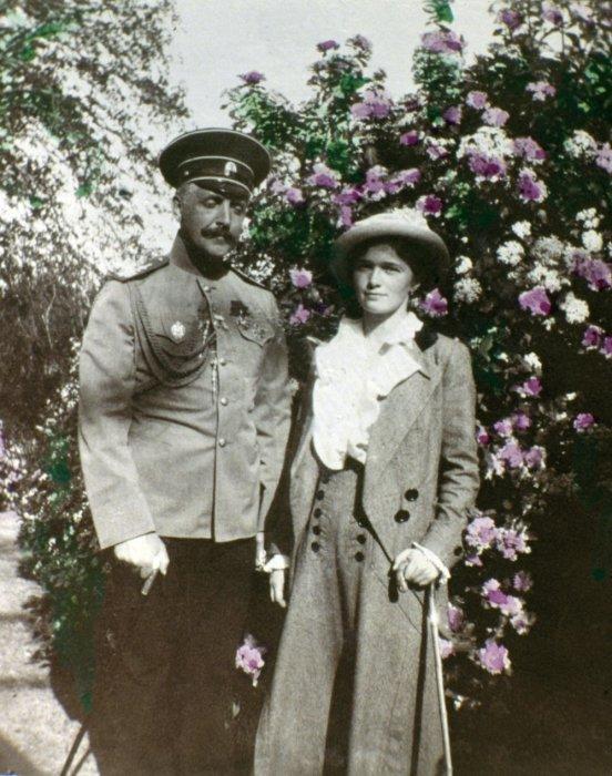 Николай Павлович Саблин, русский морской офицер, состоящий при Николае II с Татьяной Романовой.