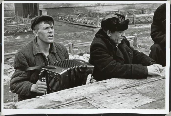 Выходной. СССР, Москва, 1960 год.