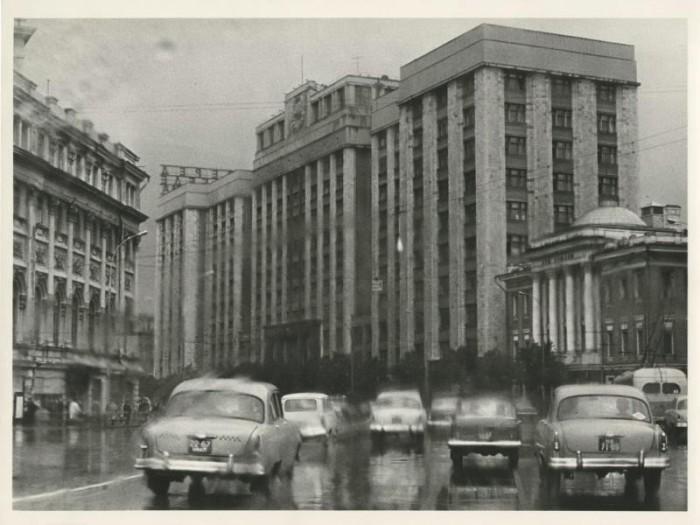 Здание Госплана. СССР, Москва, 1960 год.