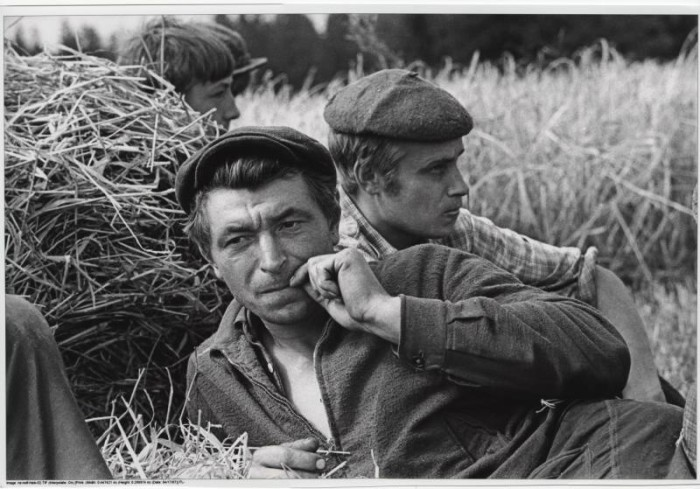 Отдых по-советски. СССР, 1972 год.