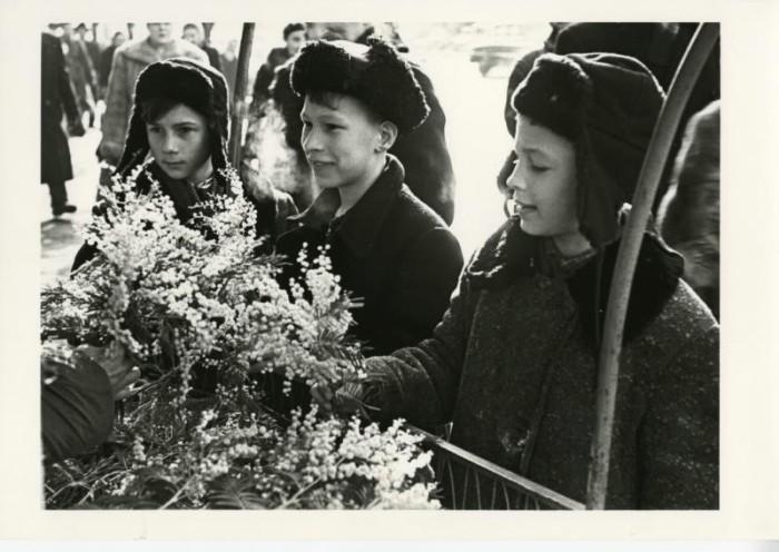 8 Марта. СССР, Москва, 1959 год.