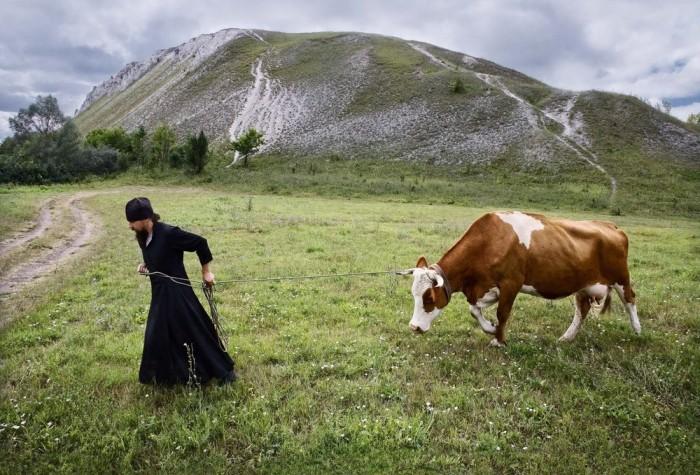 «Монашеская повседневная жизнь». Автор фотографии: Сергей Смирнов.