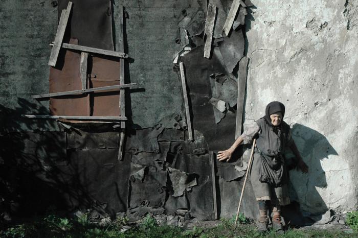 Слепая жительница села Большедмитровка. Автор фотографии: Андрей Архипов.