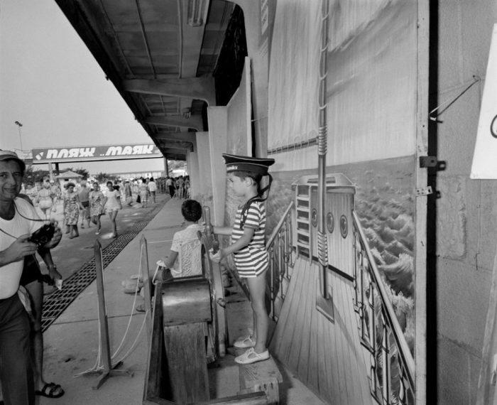 Мгновенное фото. СССР, Сочи, 1988 год.