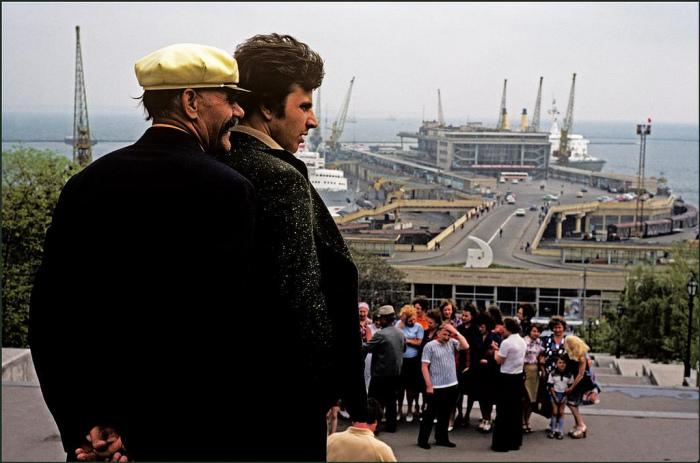 Колоритные фотографии, сделанные иностранцем во время путешествия по Одессе.