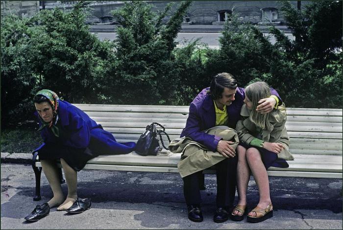 Документальные фотографии, сделанные британским журналистом в Одессе в 1982 году.