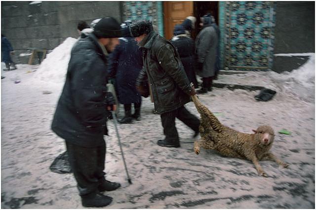 Курбан-Байрам. Россия, Санкт-Петербург, 2004 год.