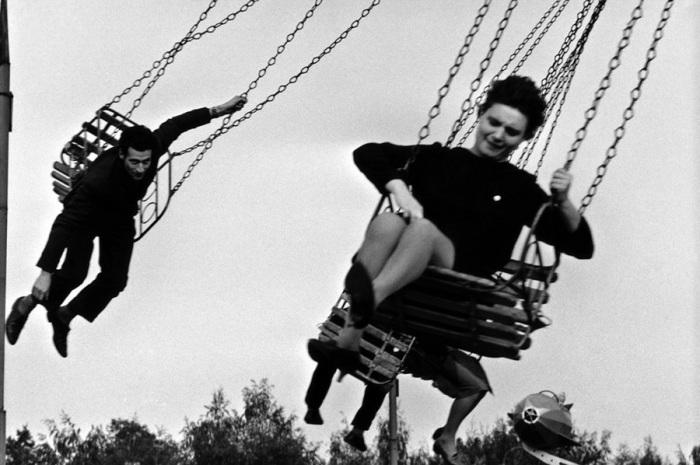 Центральный парк культуры и отдыха имени Максима Горького. СССР, Москва, 1962 год.